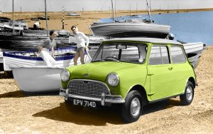 mini, 600, 500, ford model t, renault 4